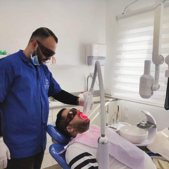 הלבנת שיניים במרפאת העמקים -עפולה